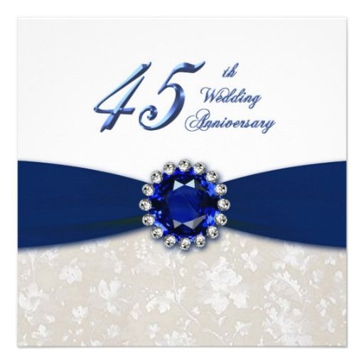 45 Wedding Anniversary Gift Ideas: 75 Best 45th Wedding Anniversary Images On Pinterest