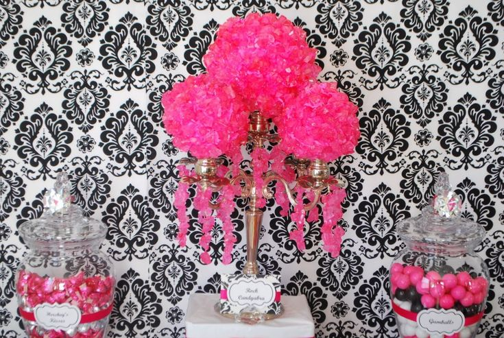 Candy Centerpieces for Sweet 16 | WOW Guests with Topiary Centerpieces & Candy Topiaries