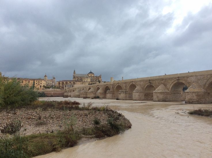 The Roman bridge of Córdoba is a bridge in the Historic centre of Córdoba, Andalusia, southern Spain, built in the early 1st century BC across the Guadalquivir river.