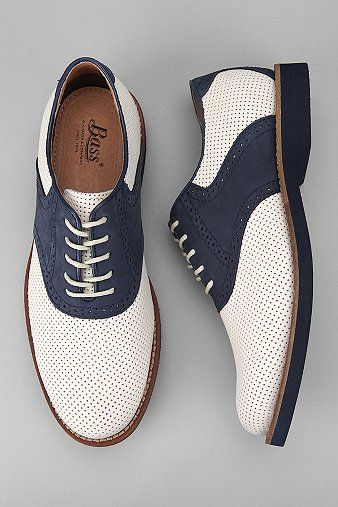 Fashion Men's Shoes. Bass Burlington Oxford. #menfashion #menshoes [http://www.pinterest.com/alfredchong/]