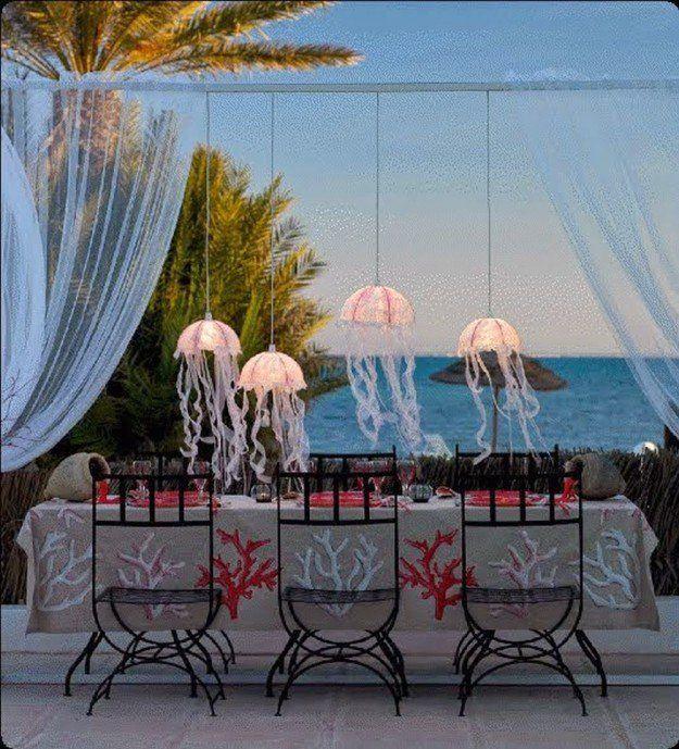 Wedding Lanterns|19 Unique Summer Beach Wedding Ideas