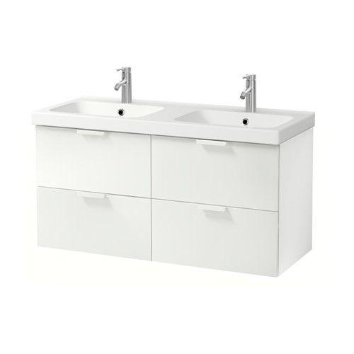 GODMORGON / ODENSVIK Armario lavabo 4cajones IKEA 10 años de garantía. Consulta las condiciones generales en el folleto de garantía.