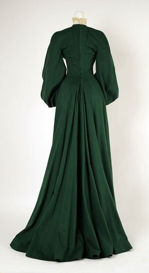 House of Worth, Wool Walking dress, 1902 by enid