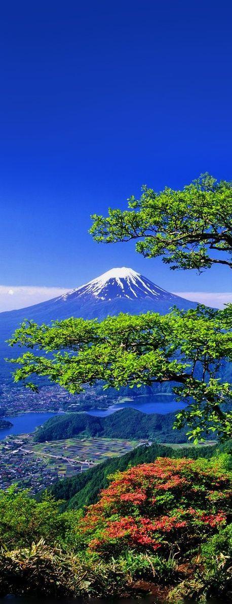 La razón de esto es que toda creación de Dios es excelente.  (Mount Fuji, Japan) SB
