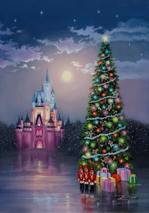 Walt Disney World Christmas Animation