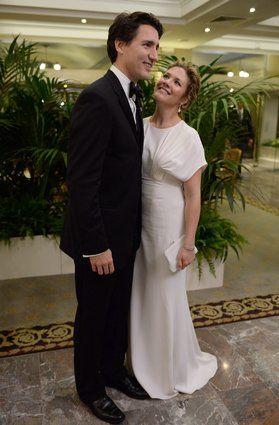 L'épouse du premier ministre en a surpris plus d'un en chantant a cappella lundi, à l'hôtel de ville d'Ottawa. Et si sa performance avait été soumise aux très