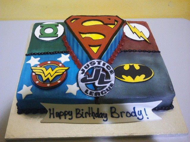 Justice League Cake Decorating Kit : Justice League The Flash And Birthday Cake - Hot Girls ...