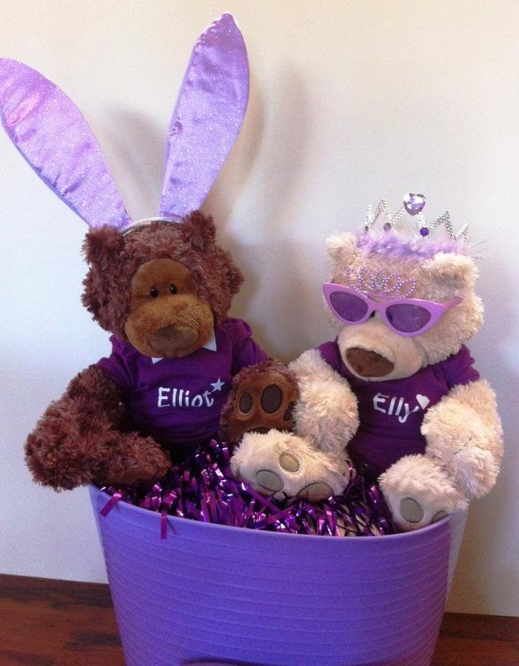 Elly and Elliot on Purple Day!
