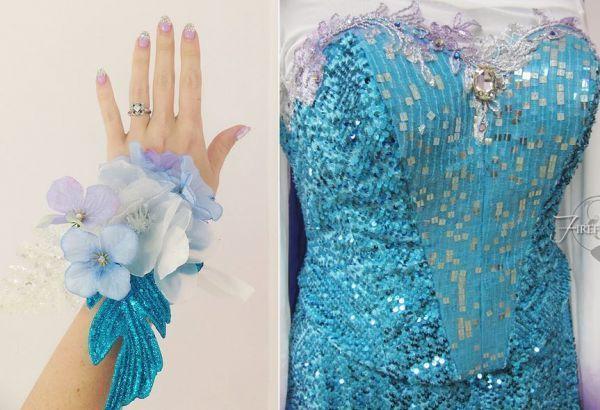 Disney Prom Dresses : Frozen prom dress