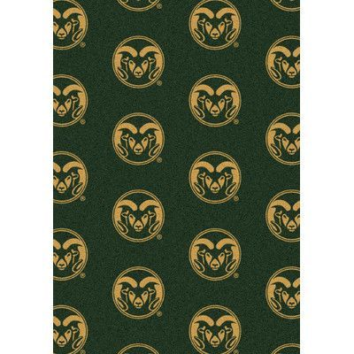 My Team by Milliken College Repeating NCAA Colorado State Novelty Rug