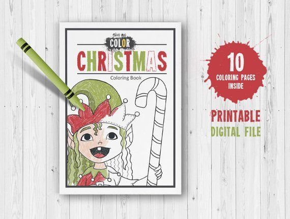 Christmas Coloring Book Pdf Xmas Coloring Pages For Kids