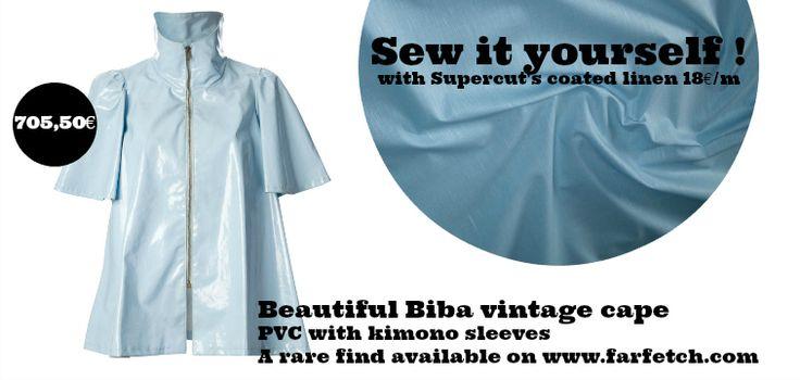 Trench coat cape Biba Vintage