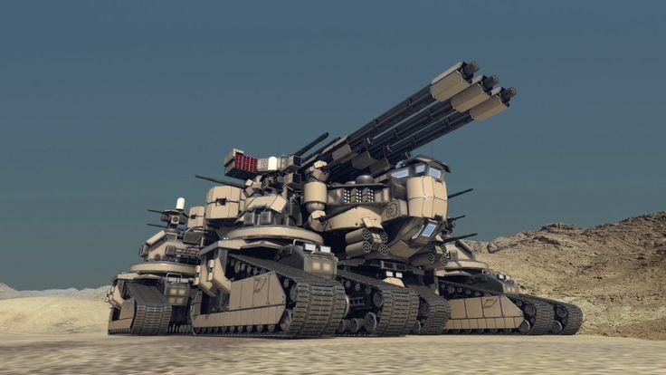 Sci-Fi Vehicles Tank Art | Taranchula Tank #2 by Avitus12 on deviantART