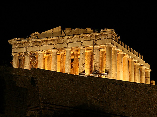 athens - akropolis by night