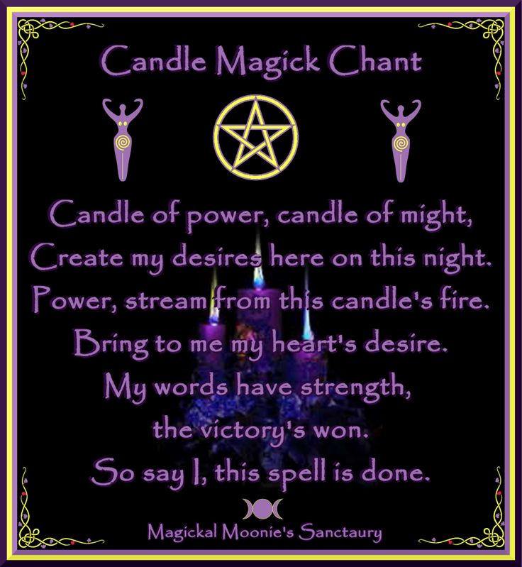 Magickal Moonie's Sanctuary  Blessed Be ♥      Magickal Moonie  Yvonne )O(Spelling And Candles, Magic Chants, Candles Chants, Magick Chants, Candle Magic, Wicca, Colors Magick, Candles Magick, Candles Majic