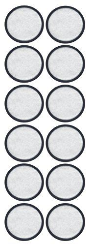 12-Pack - Mr. Coffee Compatible Water Filters - Universal Fit Mr. Coffee Compatible Filters - Replacement Charcoal Water Filter Discs for Mr. Coffee Coffee Brewers:   2-Pack - Mr. Coffee Compatible Water Filters - Universal Fit Mr. Coffee Compatible Filters - Replacement Charcoal Water Filter Discs for Mr. Coffee Coffee Brewers. Contains 12 Charcoal Water Filter Discs for Mr. Coffee Coffee Brewers. The filters fit all Mr. Coffee brewers that take the disc style of charcoal filter. Prem...