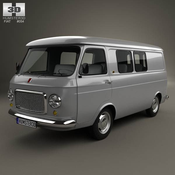 Fiat 238 1968 3d model from humster3d.com. Price: $75