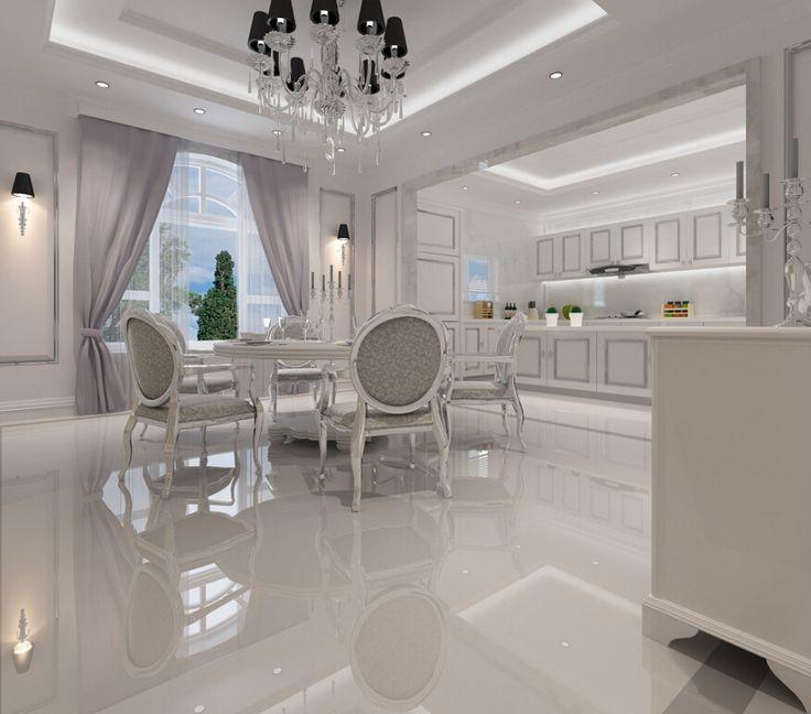 White Ceramic Tile