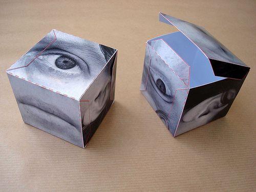 cubism - folded Sharon Pazner