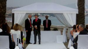 Ceremonias Civiles en la playa Oficiante Torremolinos