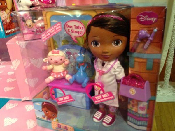 dr.+mcstuffins+toys | Doc McStuffins Get Better Check Up Center Video Review