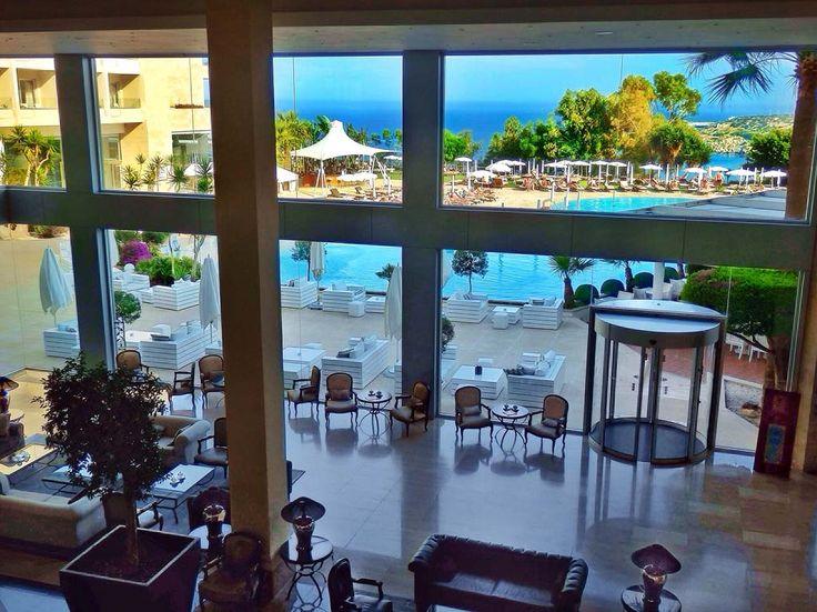 The lobby of Grecian Park Hotel, Cyprus