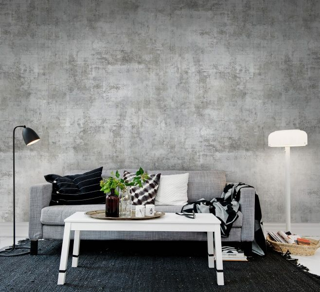 Squared Painting wall murals - wallpaper - | Rebel Walls