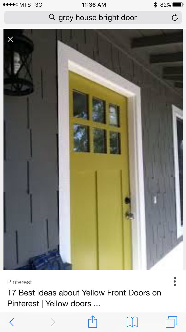 20 best new house images on Pinterest   Exterior colors, Yellow ...