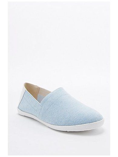 http://sellektor.com/user/dualia/collection/vagabond Vagabond Lily Denim Slip-On Shoes in Light Blue