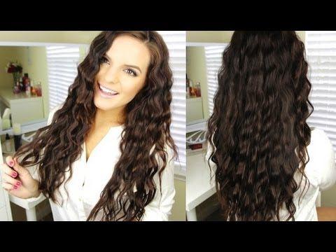 Back To School: Wavy Hair Tutorial - YouTube