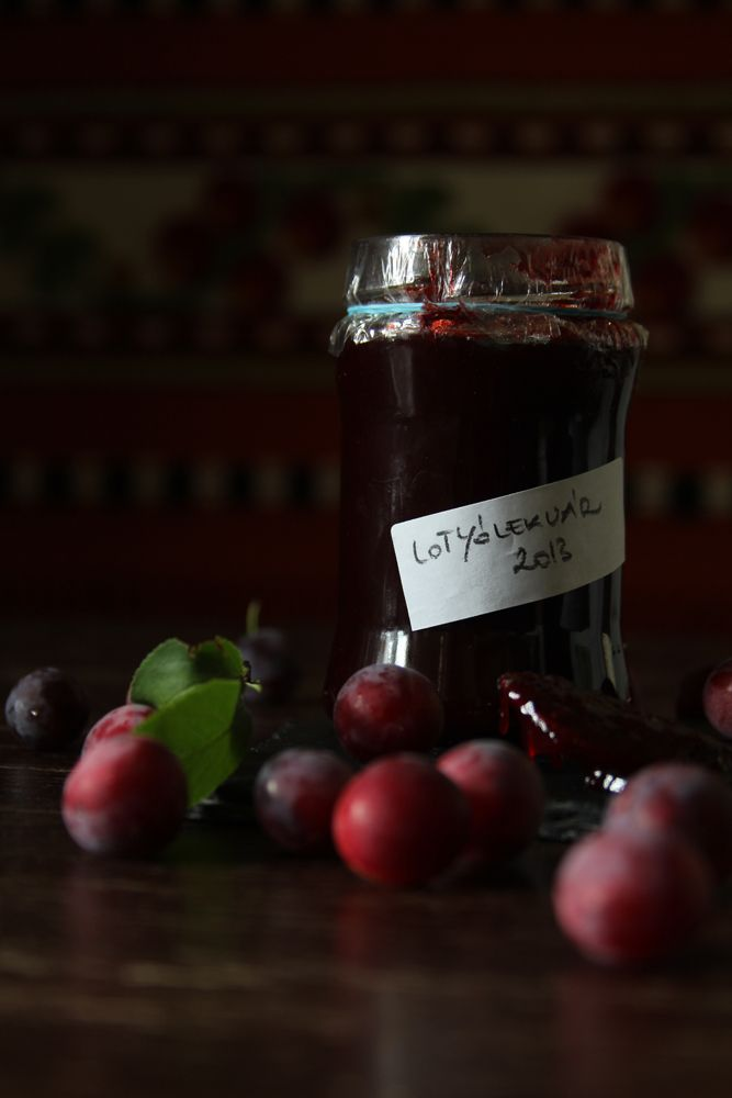 Cherry plum preserve. photo by Rita Szabo