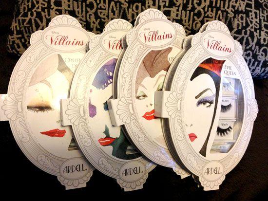 Disney Villains Lashes - perfect for Halloween!