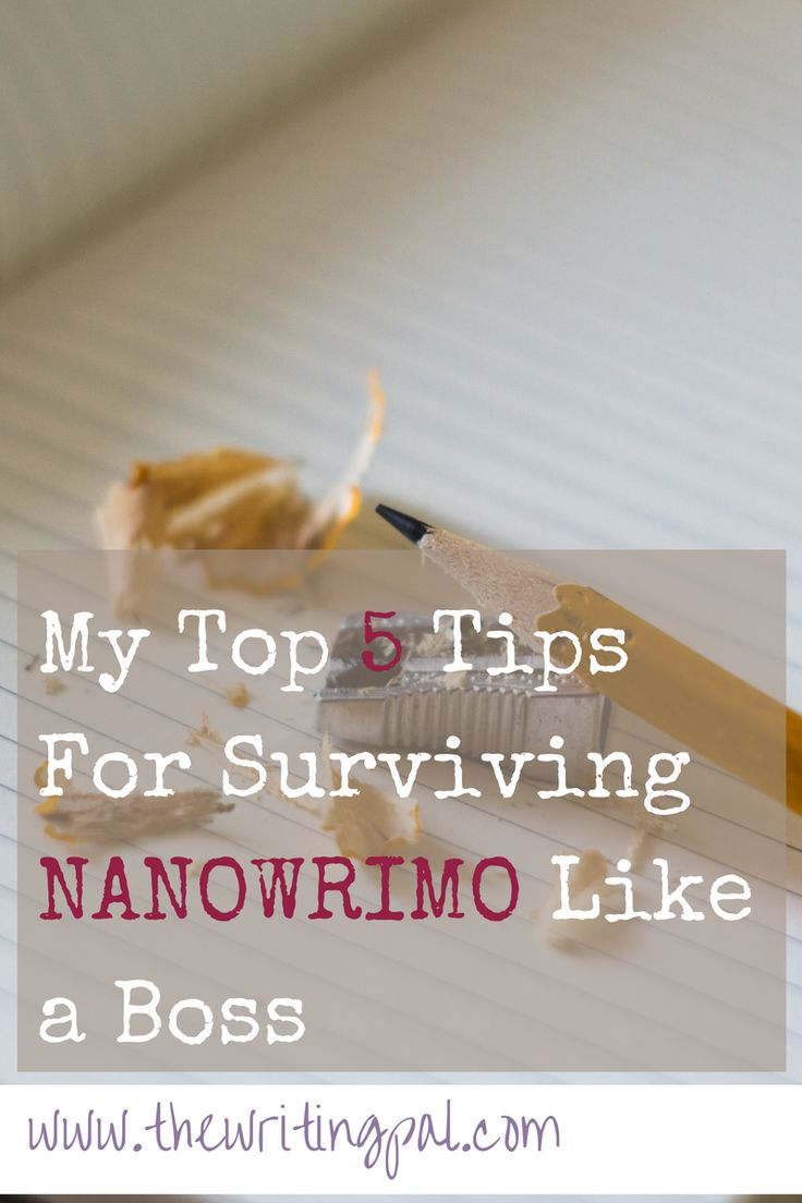 Surviving NANOWRIMO is no small feat. It's hard to write 50k words in one month. For tips on surviving NANOWRIMO, read this post.