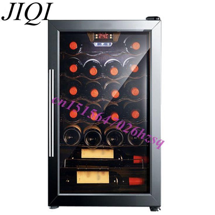 62l電動ワイン クーラー茶キャビネット茶冷蔵庫冷却ボックス恒温