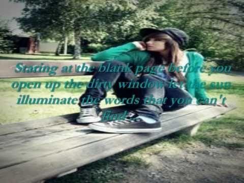 Unwritten - Natasha Bedingfield Lyrics (The Hills Theme Song)