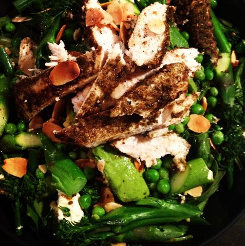 Alkalizing Chicken Salad by Jess Sepel #VieActive
