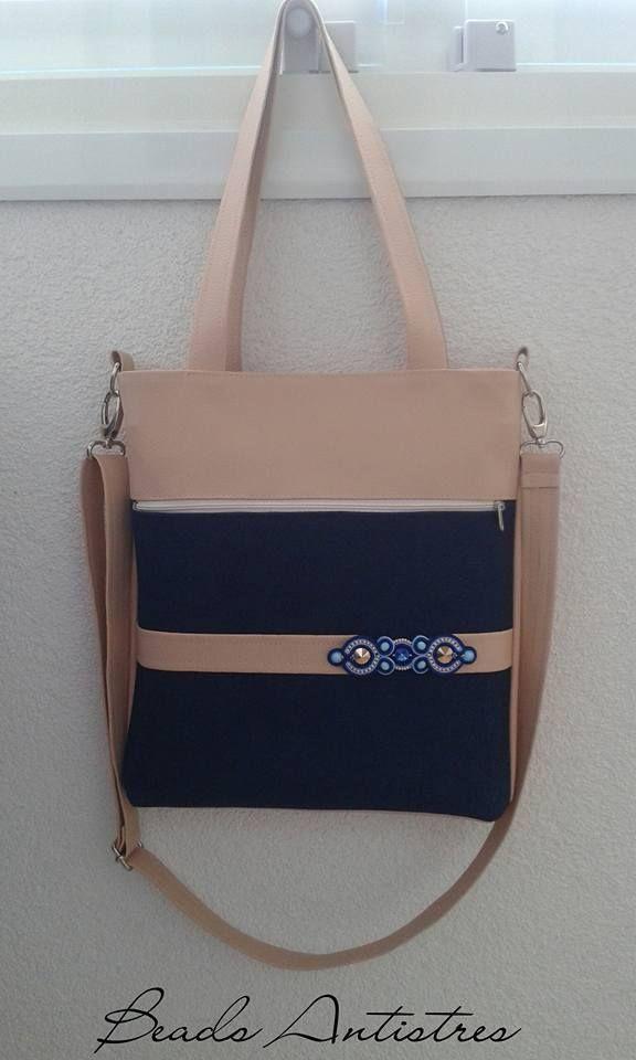 My work 5/2017...handmade handbag with soutache