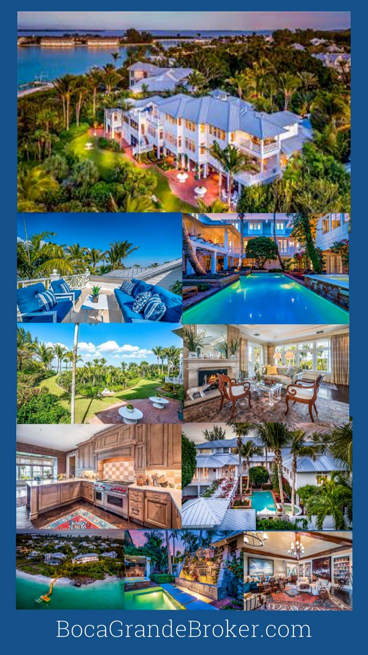 Prominently poised on the aquamarine shores of Gasparilla Pass on the North Shore, this waterside masterpiece is an outstanding achievement in quality, design and artistry. On an incredibly private 1.5 acre seaside location. #bocagrande #luxury #realestate #luxuryrealestate #florida #waterfront #property #forsale #islandlife