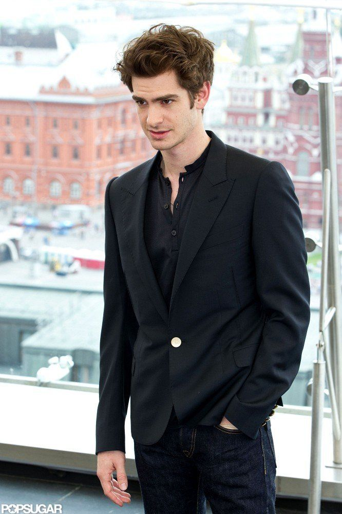 Andrew Garfield... This should be illegal, cuz he is like so hot and like- I'm just gonna stop..