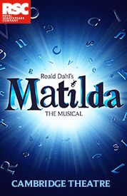 Get Matilda tickets, discount tickets, theater information, reviews, cast, pictures, news, video and more! - West End, Greater London