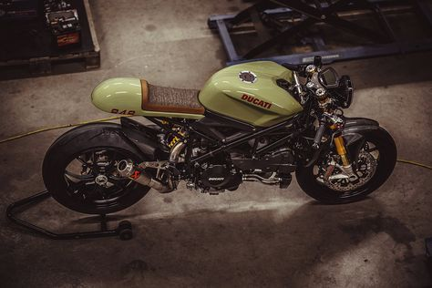 Ducati 848 Evo cafe racer by NCT Motorcycles of Austria