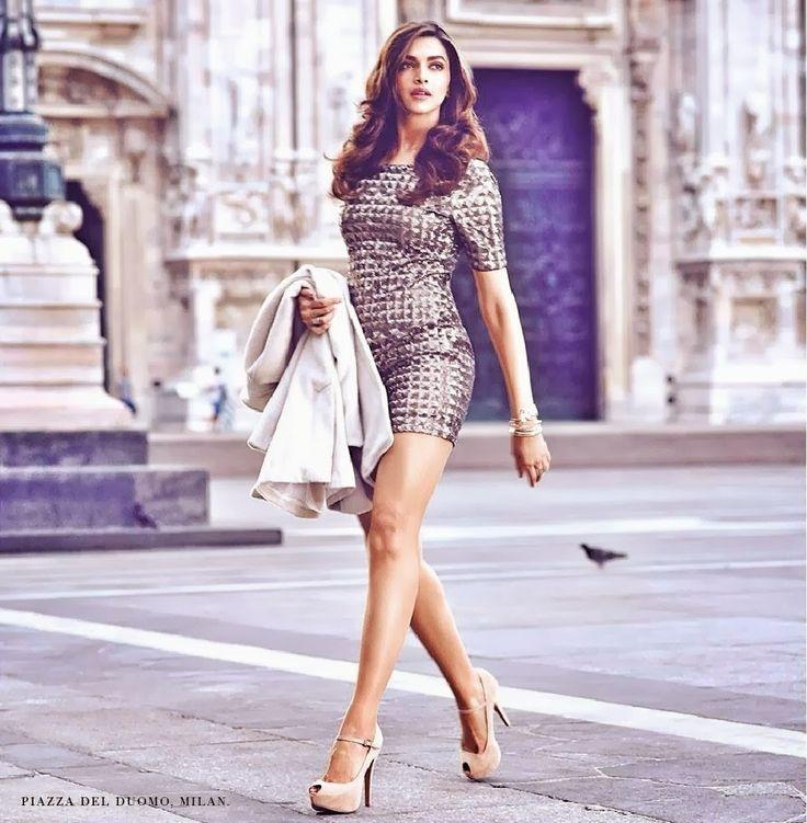 Deepika Padukone's New Photoshoot for Van HeuSen.