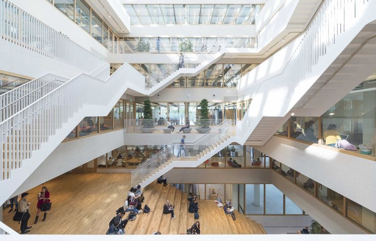 Gallery of Erasmus University Rotterdam / Paul de Ruiter Architects - 1