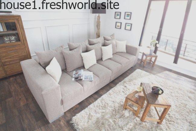 Design Xxl Sofa Big Sofa Island Soft Baumwolle Greige Inkl Kissen Das Imposan Couch Design Modern Big Sofas Sofa Design