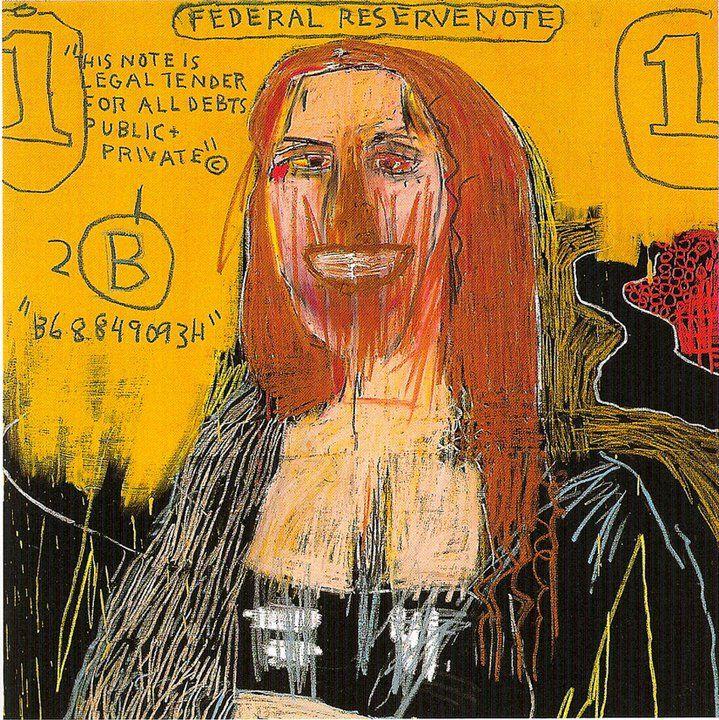 V/ LE XXe SIÈCLE ET L'ART CONTEMPORAIN Basquiat Mona Lisa (1983)