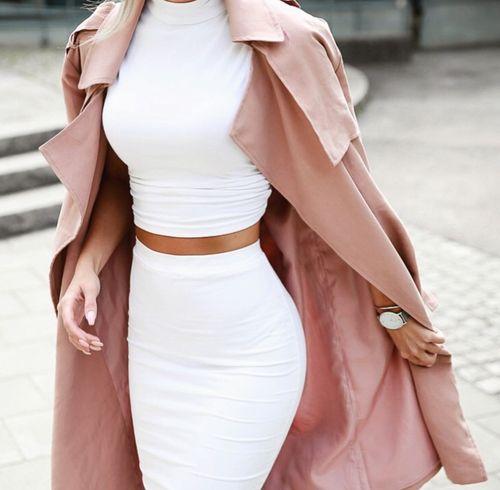 Set with coat