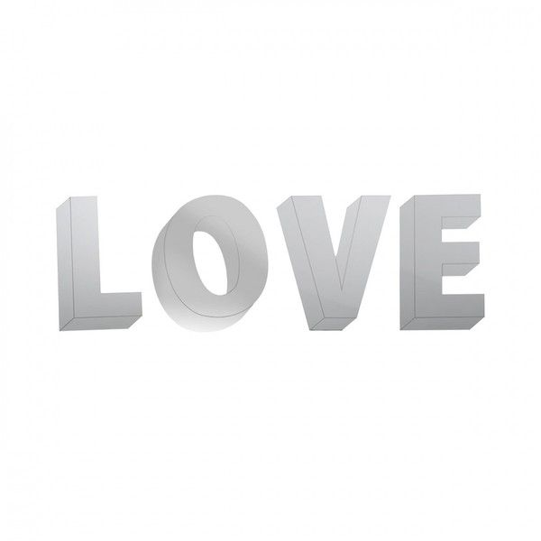 LOVETHESIGN Love decorative mirror (£43) ❤ liked on Polyvore featuring home, home decor, mirrors, quotes, print, text, filler, phrase, saying and wall mirrors