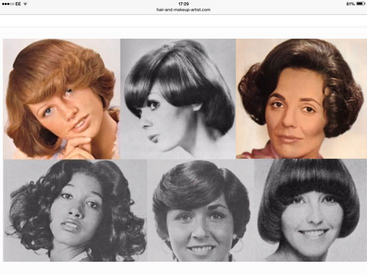 Vintage Hair Styles For Short Hair: 37 Best 1970's Hairstyles Images On Pinterest