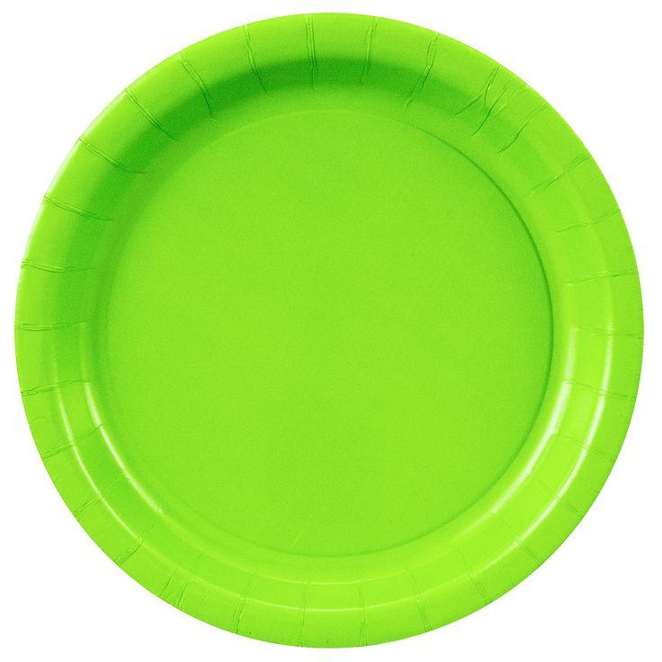 Fresh Lime (Lime Green) Dinner Plates, 72695