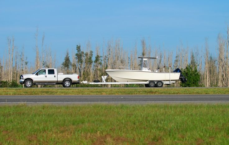 If you're towing with your vehicle, check out the tow rating before heading down the road. You need to know how much does a boat trailer weigh.